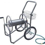 Liberty-Garden-Products-880-2-Industrial-2-Wheel-Pneumatic-Tires-Garden-Hose-Reel-Cart-Bronze-0-0
