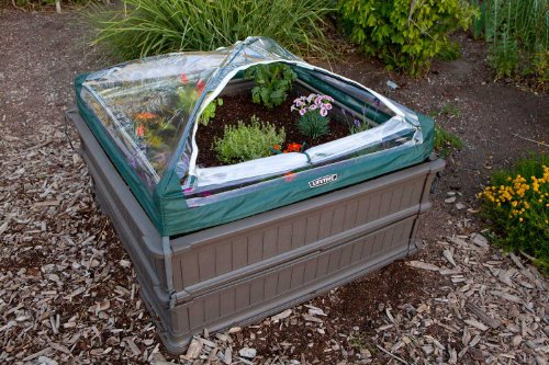 Lifetime-60053-Raised-Garde-Bed-Kit-2-Beds-and-1-Early-Start-Vinyl-Enclosure-0-1