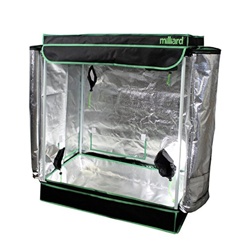 MILLIARD-30-x-18-x-36-100-Reflective-Mylar-Hydroponic-Grow-Tent-with-Window-Great-for-Indoor-Planting-and-Early-Seedling-Starters-0-1
