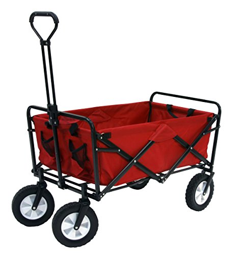 Mac-Sports-Folding-Utility-Sports-Wagon-Deep-Red-0