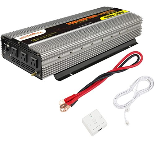 MicroSolar-12V-3000W-Peak-6000W-Pure-Sine-Wave-Inverter-with-Remote-Wire-Controller-0