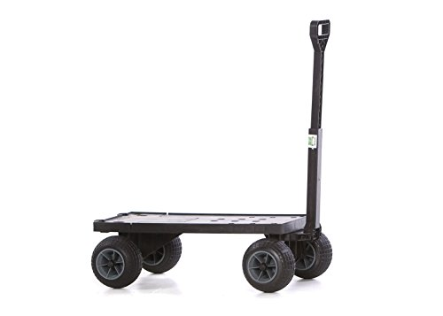 Mighty-Max-Cart-FB600ABG-Flatbed-Yard-Cart-with-All-Terrain-Weatherproof-Wheels-0