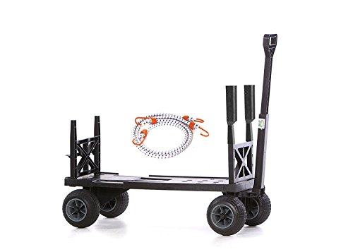 Mighty-Max-Cart-SU600DBG-Sports-Fishing-Utility-Cart-with-All-Terrain-Weatherproof-Wheels-0