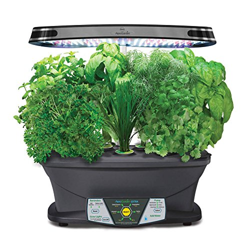 Miracle-Gro-AeroGarden-Extra-LED-with-Gourmet-Herb-Seed-Pod-Kit-0
