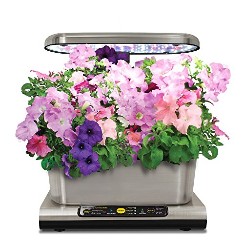 Miracle-Gro-AeroGarden-Harvest-Elite-with-Gourmet-Herb-Seed-Pod-Kit-Stainless-Steel-0-0