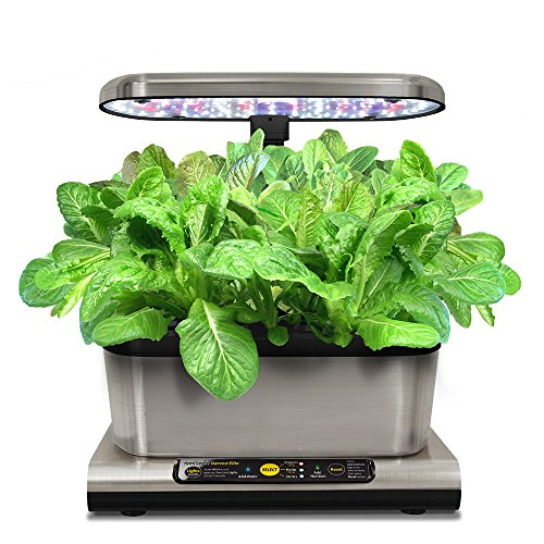 Miracle-Gro-AeroGarden-Harvest-Elite-with-Gourmet-Herb-Seed-Pod-Kit-Stainless-Steel-0-1