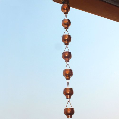 Monarch-Rainchains-Pure-Copper-Hibiki-Rain-Chain-8-12-Feet-0-1