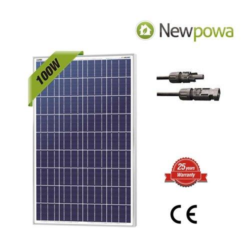 Newpowa-100W-Watt-12V-Solar-Panel-High-Efficiency-Poly-Module-Rv-Marine-Boat-Off-Grid-0