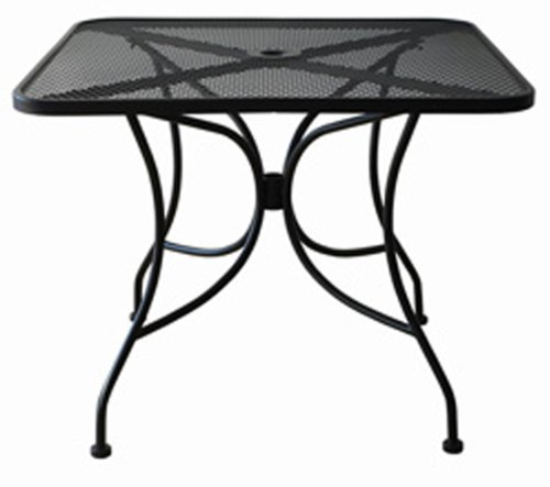 Oak-Street-Manufacturing-OD3030-Square-Black-Mesh-Top-Outdoor-Table-30-Length-x-30-Width-0