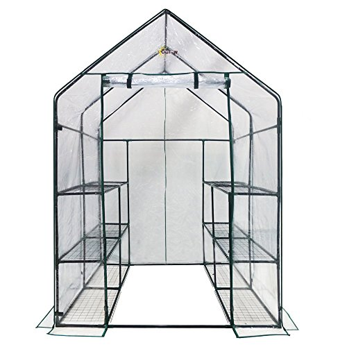 Ogrow-Deluxe-Walk-In-6-Tier-12-Shelf-Portable-Greenhouse-0