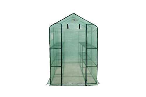 Ogrow-Extra-Large-Heavy-Duty-WALK-IN-2-Tier-12-Shelf-Portable-Lawn-and-Garden-Greenhouse-0-1