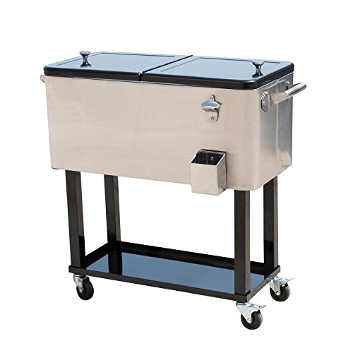 Outsunny-80-QT-Rolling-Ice-Chest-Portable-Patio-Party-Drink-Cooler-Cart-4-Color-Choices-0