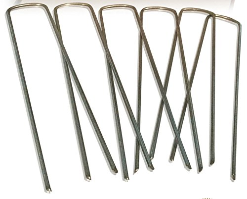 Palmetto-Golf-500-6-inch-11-Gauge-Anti-Rust-Heavy-Duty-Galvanized-Professional-Contractor-Grade-Metal-Sod-Landscape-Garden-Lawn-Staple-and-Fabric-Pins-Stakes-Pegs-MADE-IN-THE-USA-0-0