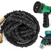 Premium-100-Expandable-Hose-Best-Expanding-Garden-Hose-on-the-Market-Solid-Brass-Fittings-Double-Latex-Core-Heavy-Duty-Fabric-34-Includes-FREE-Sprayer-Nozzle-and-2-Way-Splitter-0