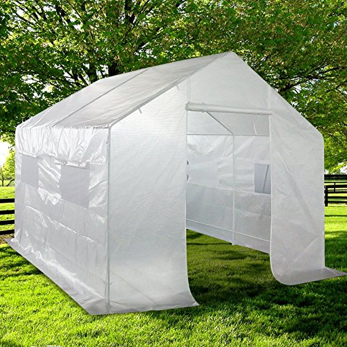 Quictent-Portable-Greenhouse-Large-Green-Garden-Hot-House-Grow-Tent-More-Size-0