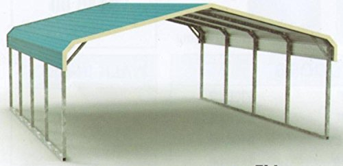 Regular-Style-All-Steel-Carport-Cover-18-x-21-x-6-9-center-clearance-0