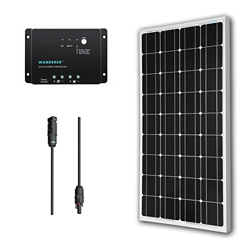 Renogy-100-Watts-12-Volts-Monocrystalline-Solar-Bundle-Kit-0
