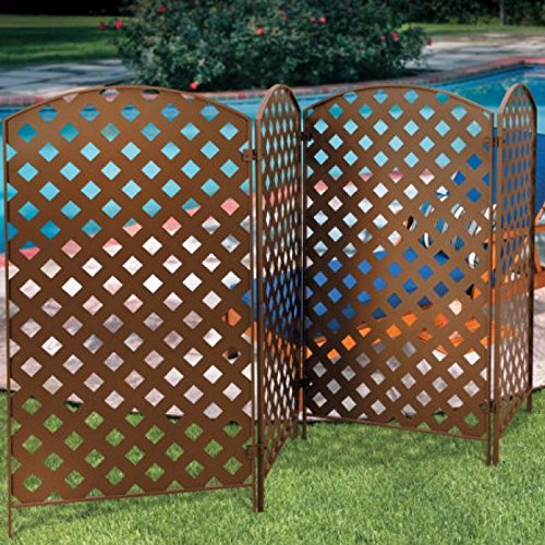 Set-of-4-Bronzed-Metal-Privacy-Screens-23-x-42-0