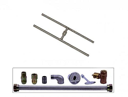 Spotix-Rectangle-HPC-Match-Lit-Fire-Pit-H-Burner-Kits-Propane-0-0