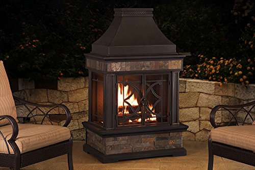 Sunjoy-L-OF117PST-A-354-x-236-x-566-Elson-Slate-and-Steel-Fireplace-Black-Bronze-Large-0-0