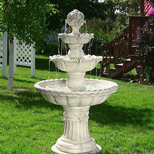 Sunnydaze-Four-Tier-White-Electric-Water-Fountain-with-Fruit-Top-52-Inch-Tall-0-0