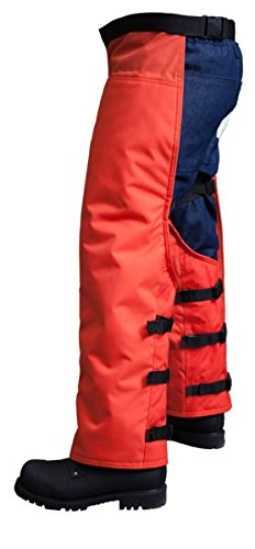 SwedePro-Chainsaw-Protective-Wrap-Chaps-30-42-Waist-36-Overall-Length-0