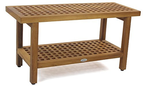 The-Original-36-Grate-Teak-Shower-Bench-With-Shelf-0