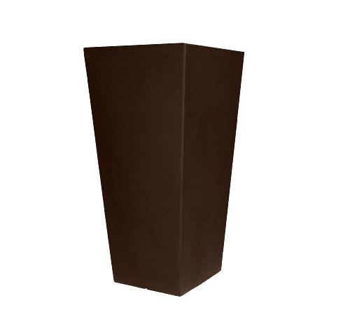 Tusco-Products-CTU32ES-Cosmopolitan-Tall-Square-Garden-Planter-32-Inch-Espresso-0