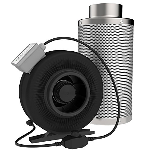 VIVOSUN-Inline-Duct-Fan-and-Carbon-Filter-Odor-Control-with-Australia-Virgin-Charcoal-0