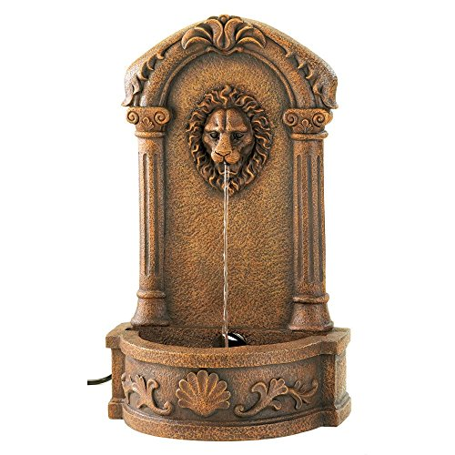 Wall-fountain-for-indooroutdoorgardenpatio-use-water-fountain-lion-head-classic-Italian-barocco-style-Made-by-Franco-di-Rienzo-0-1