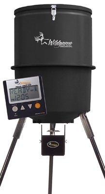 Wgi-InnovationsBa-Products-W225D-Tri-Pod-Digital-Feeder-225-Lb-Poly-Barrel-30-Gals-0