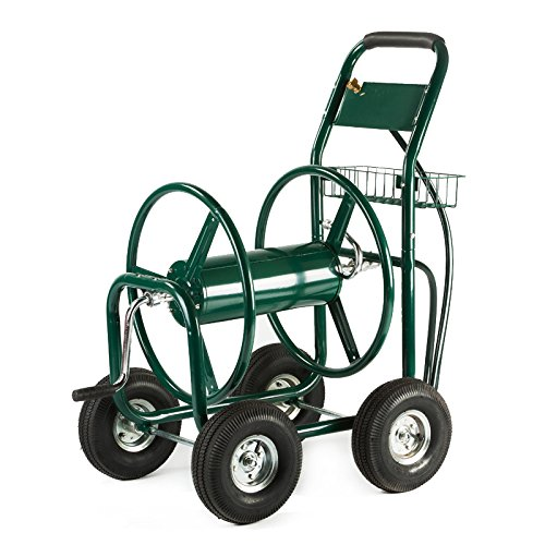 XtremepowerUS-Garden-Water-Hose-Reel-Cart-300-FT-Outdoor-Heavy-Duty-Yard-Water-Planting-0