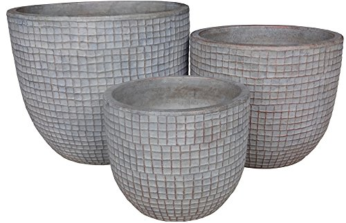 Zen-Garden-Checks-Terracotta-Planter-Set-of-3-Color-Natural-0