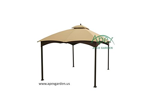 allen-roth-Gazebo-Beige-Replacement-Canopy-Top-Model-GF-12S004BTO-0-0