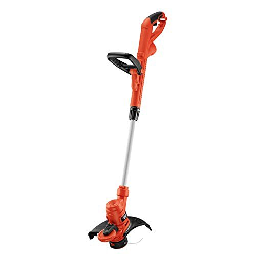 BLACKDECKER-14-in-65-Amp-Corded-Electric-Straight-Shaft-Single-Line-2-in-1-String-Grass-TrimmerLawn-Edger-0