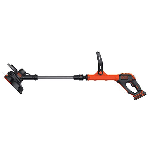 BLACKDECKER-LSTE525R-20V-MAX-15-Ah-Cordless-Lithium-Ion-EASYFEED-2-Speed-12-in-String-TrimmerEdger-Kit-Certified-Refurbished-0-0