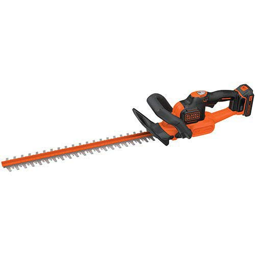 Black-Decker-LHT321R-20V-MAX-Cordless-Lithium-Ion-POWERCOMMAND-22-in-Hedge-Trimmer-Certified-Refurbished-0