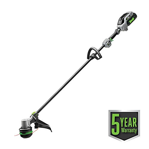 EGO-56-Volt-Lith-Ion-Cordless-Electric-15-in-Power-String-Trimmer-Carbon-Fiber-Straight-Shaft-Kit-50Ah-Battery-and-Charger-0