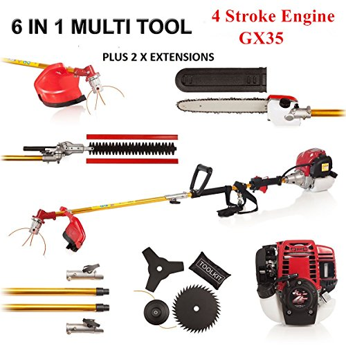 FENGKE-4STROKE-6-in1-Grass-Cutting-Multi-Tool-Garden-Set-Chainsaw-Trimmer-Strimmer-Brush-Cutter-0