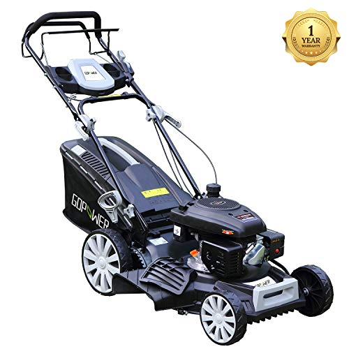I-Choice-3-in-1-Gasoline-Self-Propelled-Lawnmower-High-Rear-Wheel-Drive-Push-Mower-with-OHV-Engine-Deck-Recoil-Start-System-Side-Discharge-Mulching-Rear-Bag-0