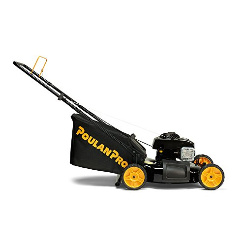 Poulan-Pro-961320101-PR550N21R3-Briggs-550-E-Series-Side-DischargeMulchBag-3-in-1-Push-Lawn-Mower-with-21-Deck-0-1