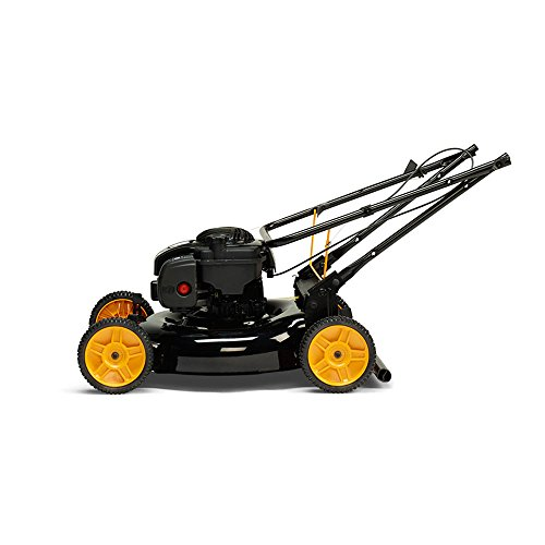 Poulan-Pro-961320101-PR550N21R3-Briggs-550-E-Series-Side-DischargeMulchBag-3-in-1-Push-Lawn-Mower-with-21-Deck-0-2