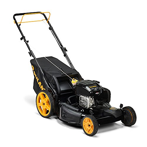 Poulan-Pro-961420141-PR675Y22RHP-Briggs-675-EXI-Side-DischargeMulchBag-3-in-1-Lawnmower-with-22-Inch-Deck-0