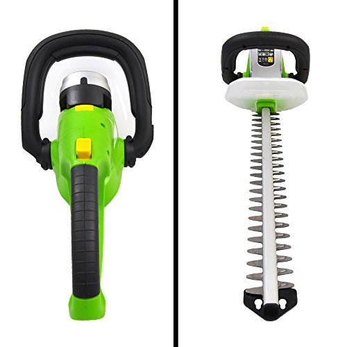 Premium-Hedger-Grass-Clippers-Cordless-Hedger-Battery-Power-Trimmer-Bushes-Cordless-Yard-Trimmer-Electric-Shrub-Trimmer-Rechargeable-Battery-Charge-Time-4-Hrs-18V-Perfect-For-Hedges-Shrubs-0-2