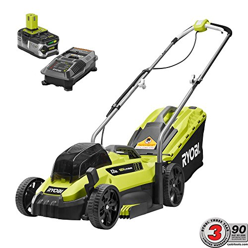 Ryobi-13-13-in-ONE-18-Volt-Lithium-Ion-Cordless-Battery-Walk-Behind-Push-Lawn-Mower-40-Ah-Battery-and-Charger-Included-0