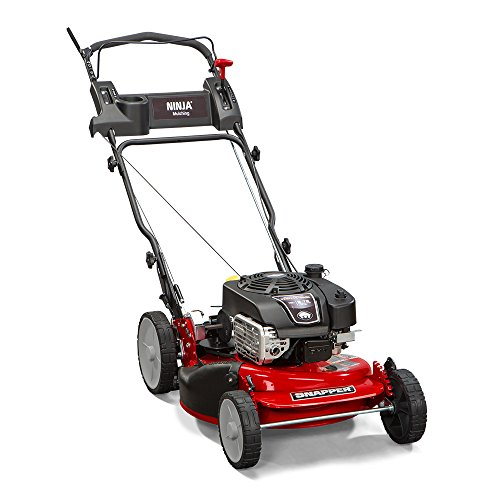 Snapper-RP2185020-7800981-NINJA-190cc-3-N-1-Rear-Wheel-Drive-Variable-Speed-Self-Propelled-Lawn-Mower-with-21-Inch-Deck-and-ReadyStart-System-Ninja-Mulching-Blade-and-7-Position-Heigh-of-Cut-0