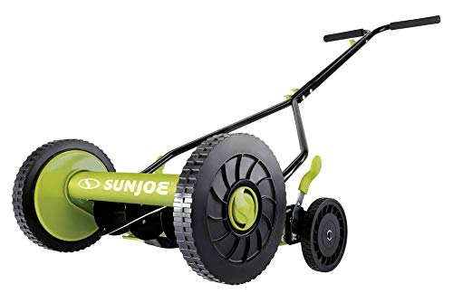 Sun-Joe-MJ503M-14-Inch-Quad-Wheel-9-Position-Manual-Reel-Mower-0-1
