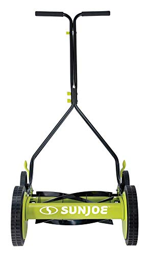 Sun-Joe-MJ503M-14-Inch-Quad-Wheel-9-Position-Manual-Reel-Mower-0-2