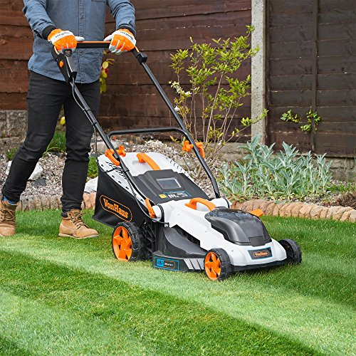 VonHaus-40V-Max16-Inch-Cordless-Lawn-Mower-Kit-with-6-Level-Adjustable-Cutting-Heights-40Ah-Lithium-Ion-Battery-and-Charger-Kit-Included-0-0