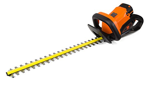 WEN-40415-40-Volt-Max-Lithium-Ion-24-in-Cordless-Hedge-Trimmer-with-2Ah-Battery-and-Charger-0